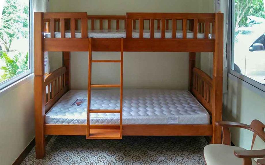 เตียงสองชั้น สำหรับพื้นที่จำกัด