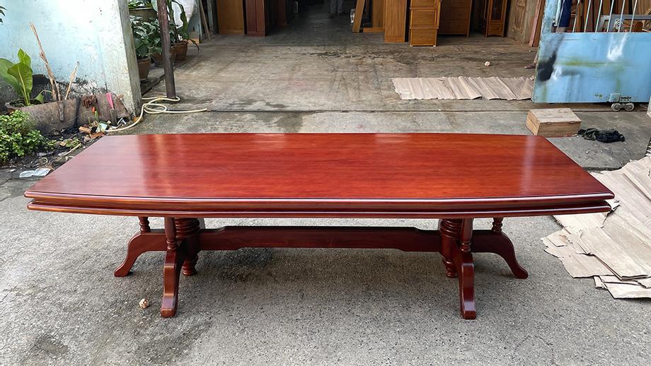 โต๊ะอาหารไม้สัก ยาว 3 เมตร
