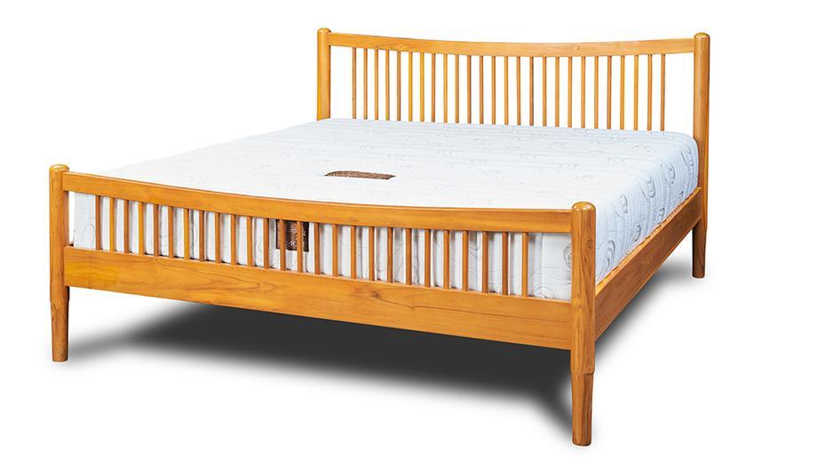 เตียงไม้สักรุ่นอารียา