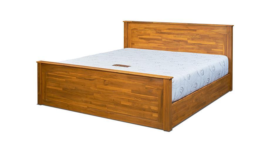 เตียงไม้สัก รุ่นลิซ่า